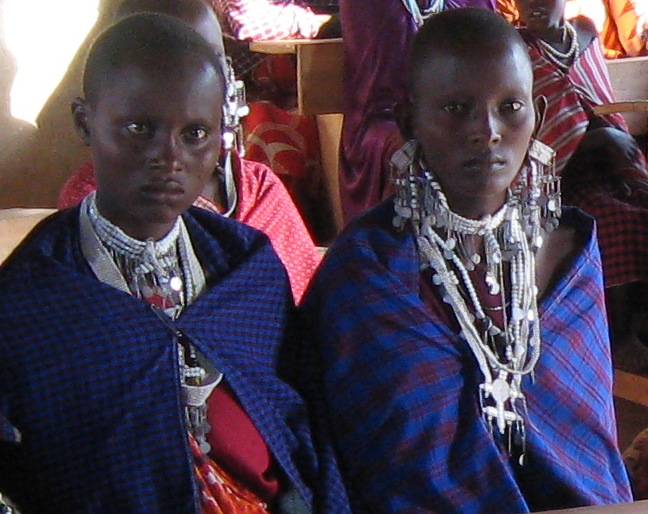 Young Massai Women
